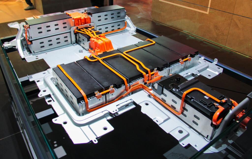 Batterie eines Opel Corsa-e